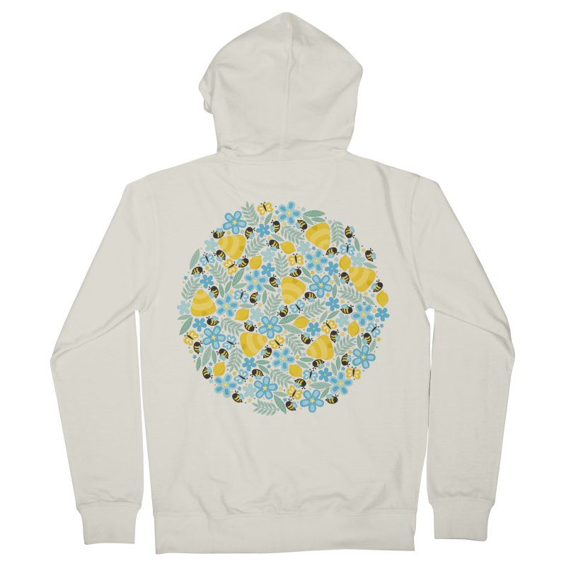 Busy Little Honeybees Women's Zip-Up Hoody by Robyriker Designs - Elishka Jepson