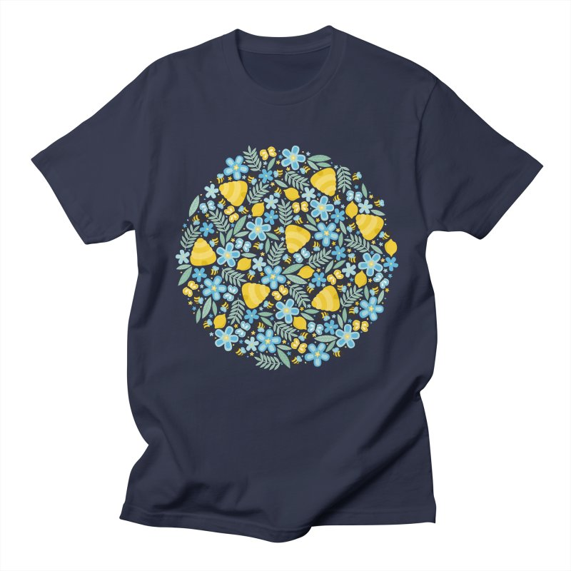 Busy Little Honeybees Men's T-shirt by Robyriker Designs - Elishka Jepson