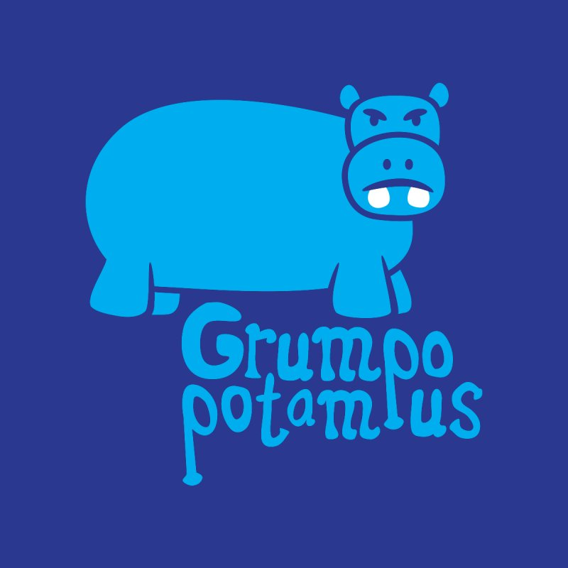 Grumpopotamus None  by Robyriker Designs - Elishka Jepson