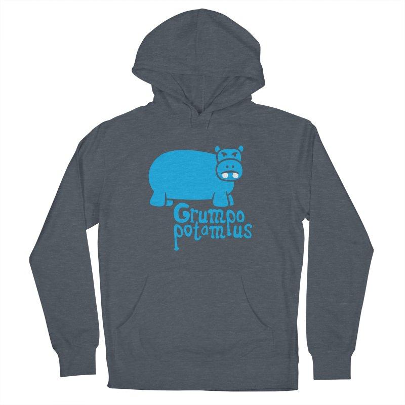 Grumpopotamus Women's Pullover Hoody by Robyriker Designs - Elishka Jepson