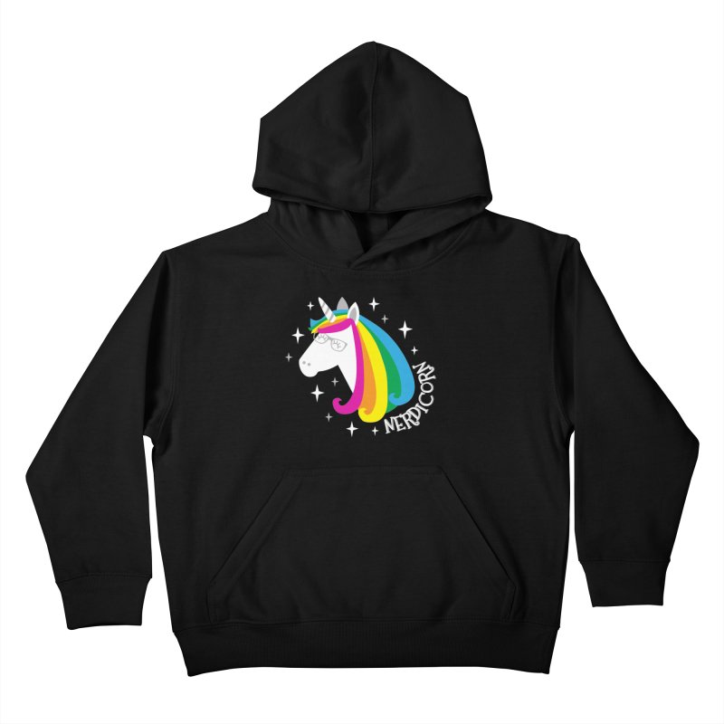 Nerdicorn Kids Pullover Hoody by Robyriker Designs - Elishka Jepson