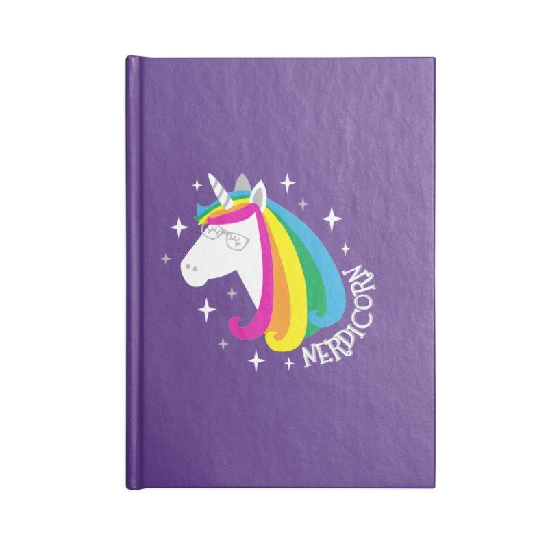 Nerdicorn Accessories Notebook by Robyriker Designs - Elishka Jepson