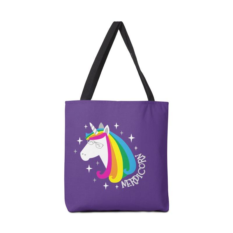 Nerdicorn Accessories Bag by Robyriker Designs - Elishka Jepson