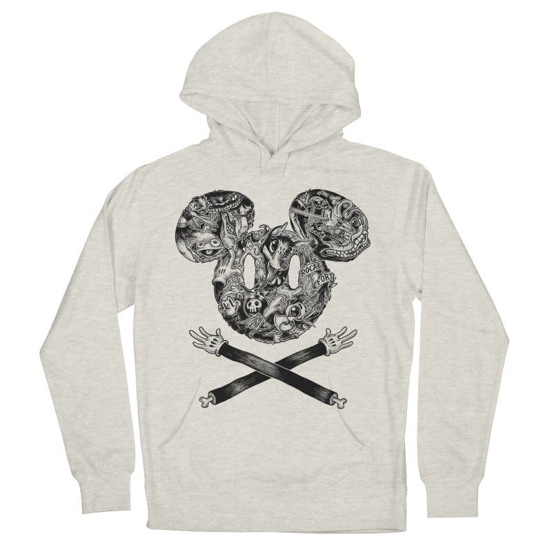 The Mouse Men's Pullover Hoody by rocafort's Artist Shop