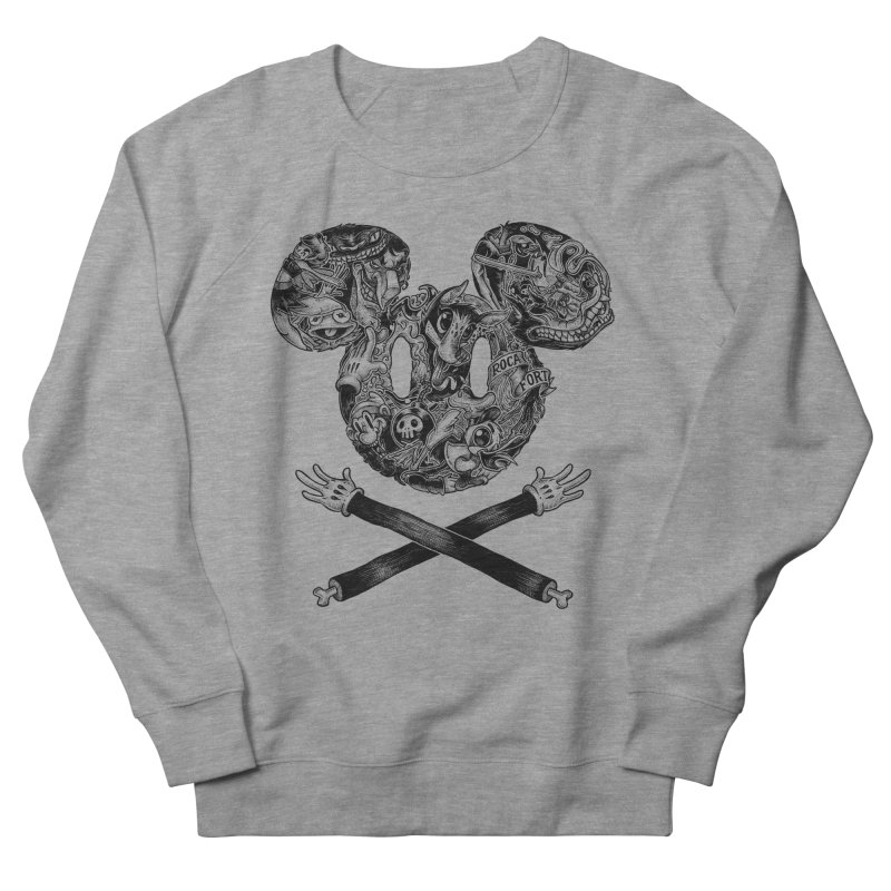 The Mouse Men's Sweatshirt by rocafort's Artist Shop