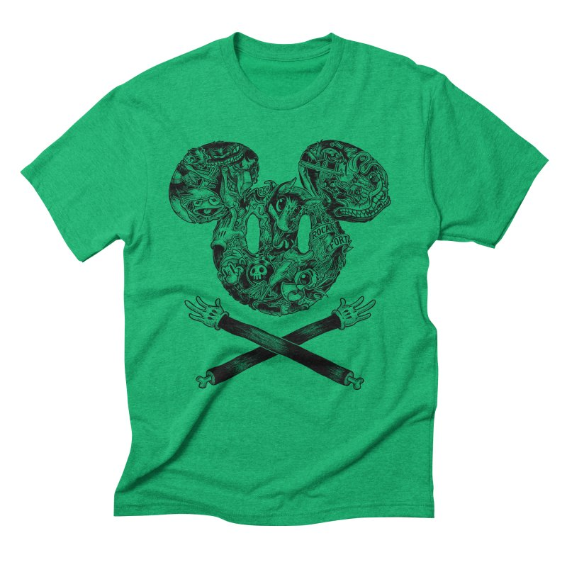 The Mouse Men's Triblend T-Shirt by rocafort's Artist Shop