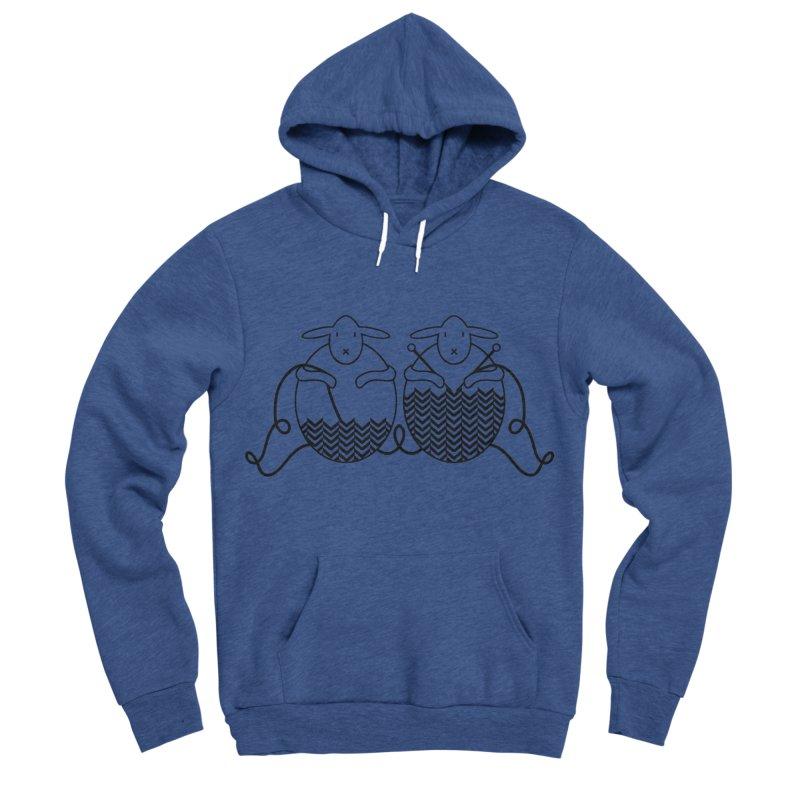 Is it me or is it getting cold? Men's Sponge Fleece Pullover Hoody by Rocain's Artist Shop
