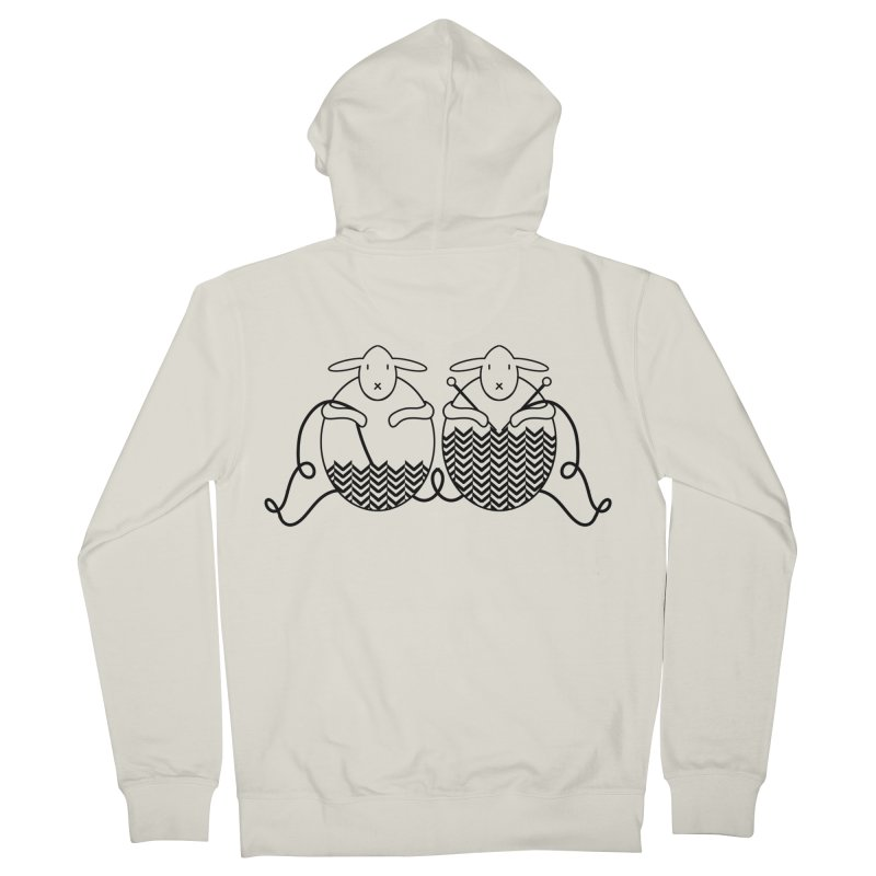 Is it me or is it getting cold? Men's French Terry Zip-Up Hoody by Rocain's Artist Shop