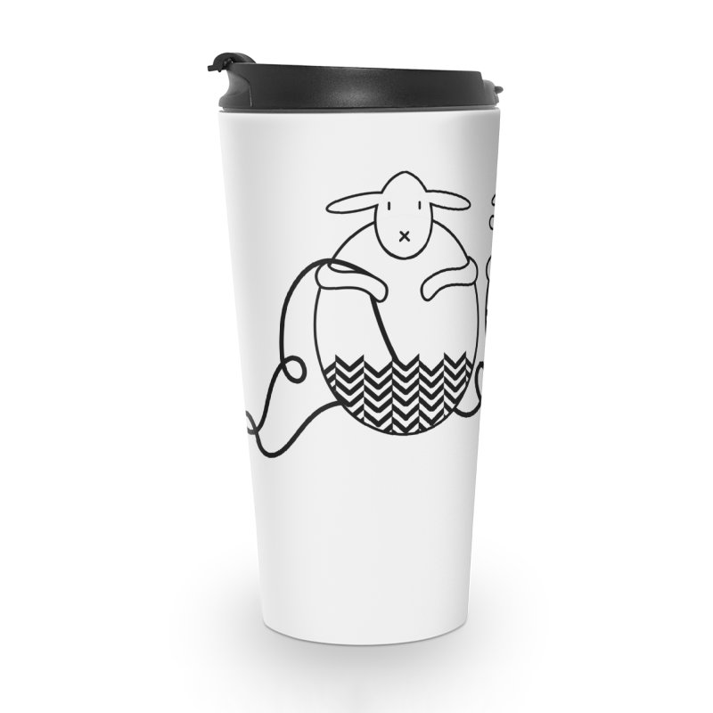 Is it me or is it getting cold? Accessories Travel Mug by Rocain's Artist Shop