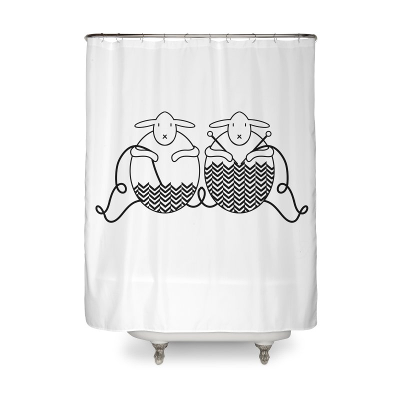 Is it me or is it getting cold? Home Shower Curtain by Rocain's Artist Shop