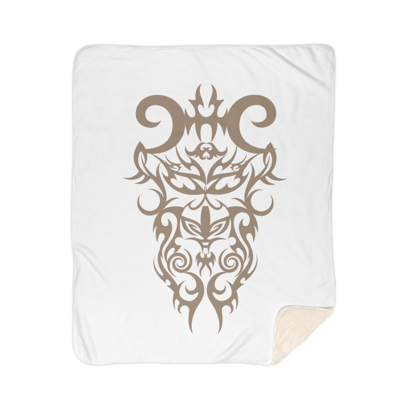 Rocain Logo Home Sherpa Blanket Blanket by Rocain's Artist Shop