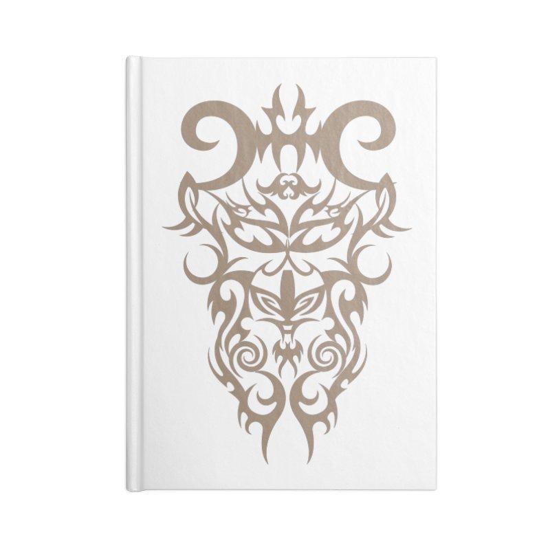 Rocain Logo Accessories Lined Journal Notebook by Rocain's Artist Shop