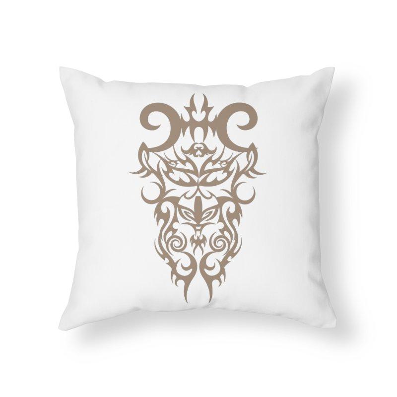 Rocain Logo Home Throw Pillow by Rocain's Artist Shop