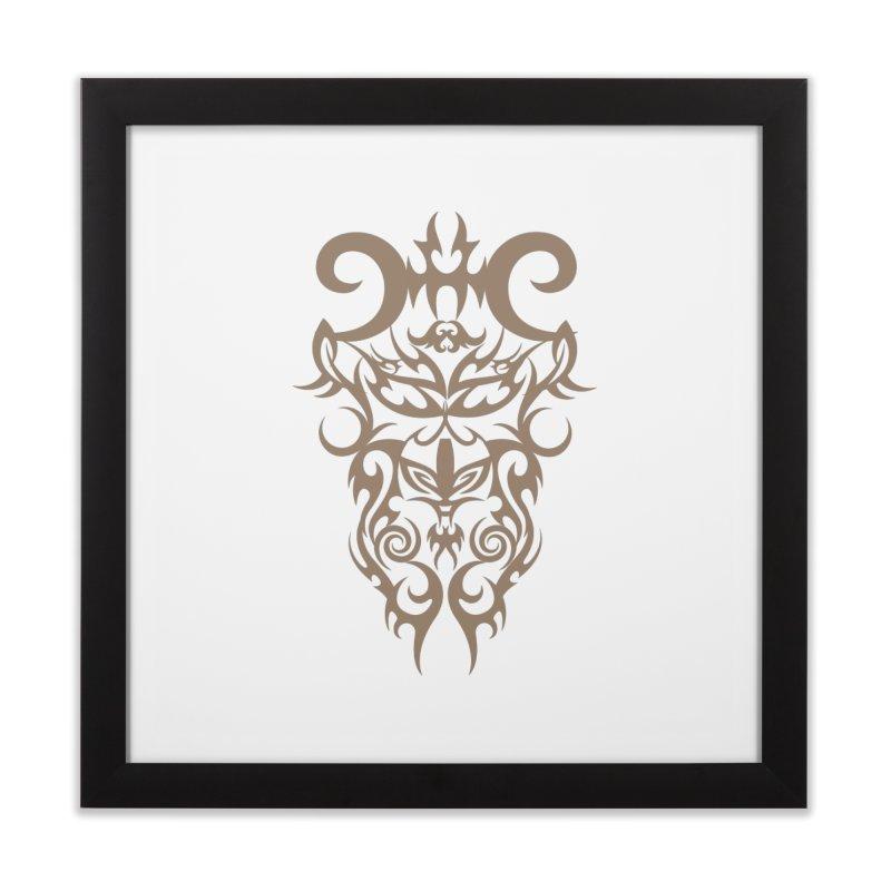 Rocain Logo Home Framed Fine Art Print by Rocain's Artist Shop