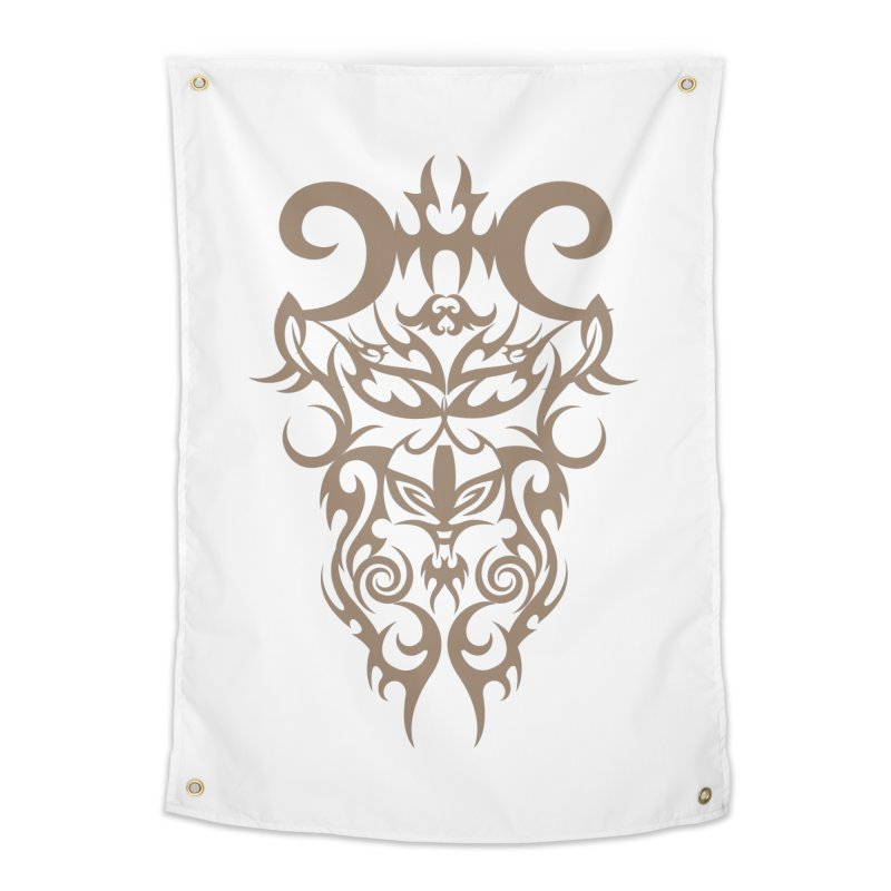 Rocain Logo Home Tapestry by Rocain's Artist Shop