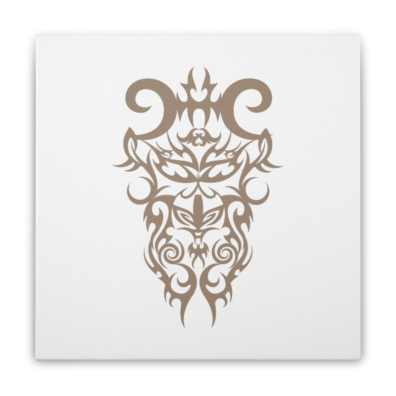 Rocain Logo Home Stretched Canvas by Rocain's Artist Shop