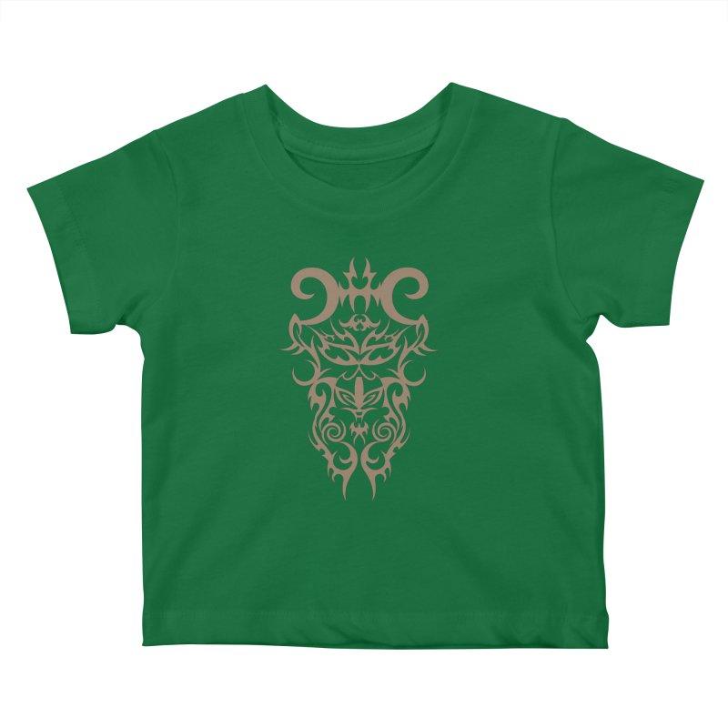Rocain Logo Kids Baby T-Shirt by Rocain's Artist Shop