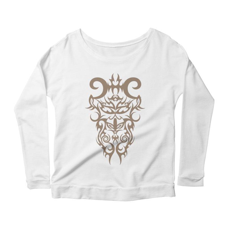 Rocain Logo Women's Scoop Neck Longsleeve T-Shirt by Rocain's Artist Shop