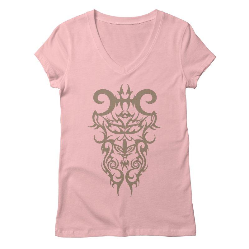 Rocain Logo Women's Regular V-Neck by Rocain's Artist Shop
