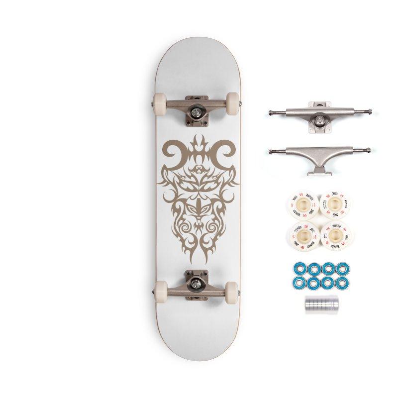 Rocain Logo Accessories Complete - Premium Skateboard by Rocain's Artist Shop