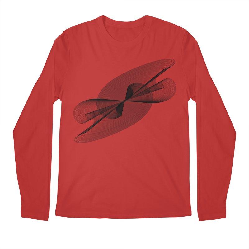 Radiated French Curve Men's Regular Longsleeve T-Shirt by Rocain's Artist Shop