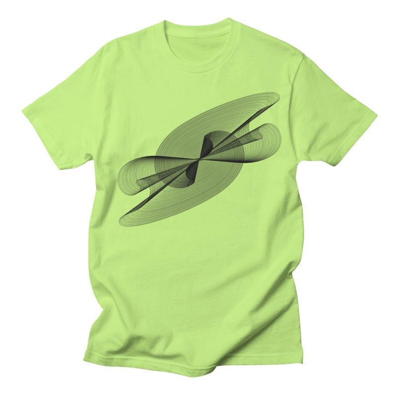 Radiated French Curve Women's Regular Unisex T-Shirt by Rocain's Artist Shop