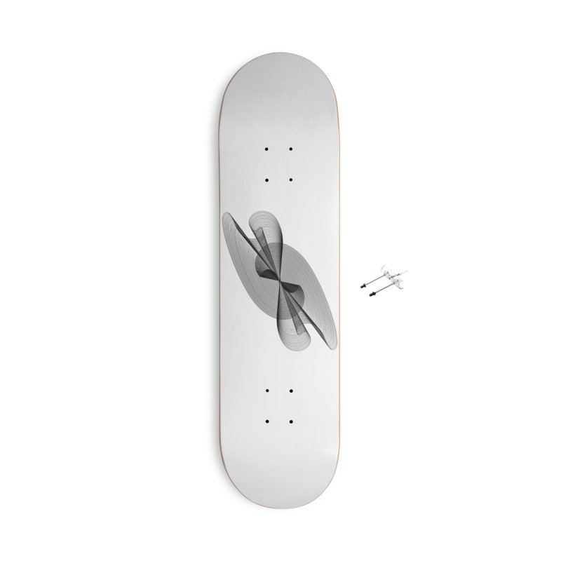 Radiated French Curve Accessories With Hanging Hardware Skateboard by Rocain's Artist Shop
