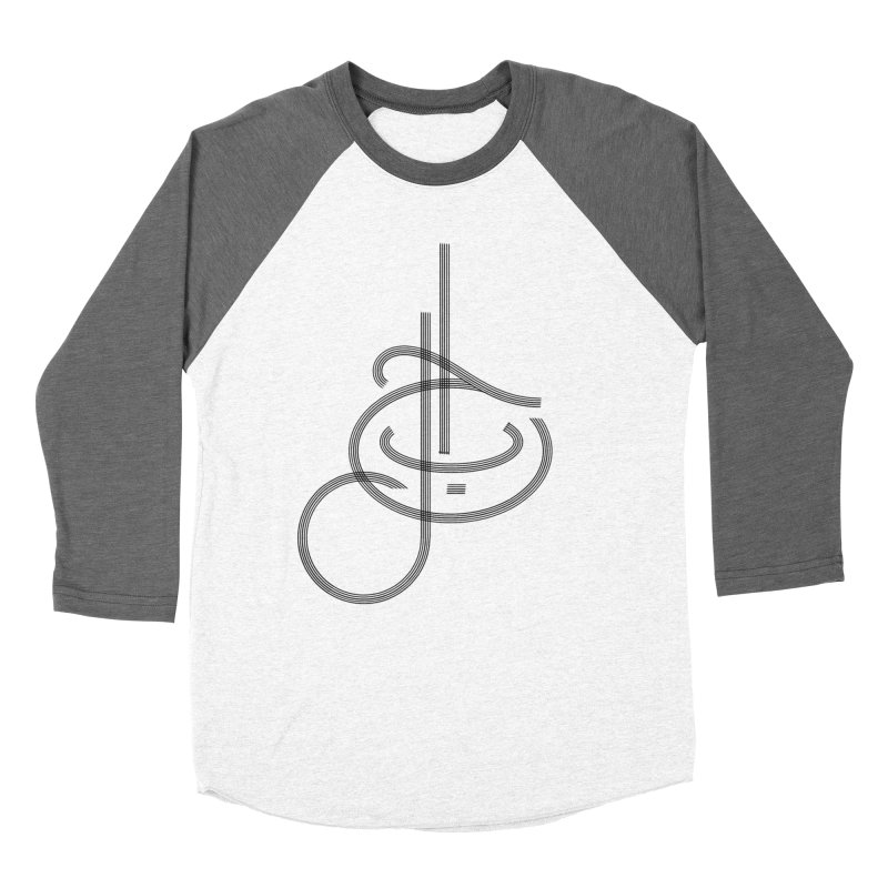 Love Arabic Calligraphy - 1 Women's Baseball Triblend Longsleeve T-Shirt by Rocain's Artist Shop