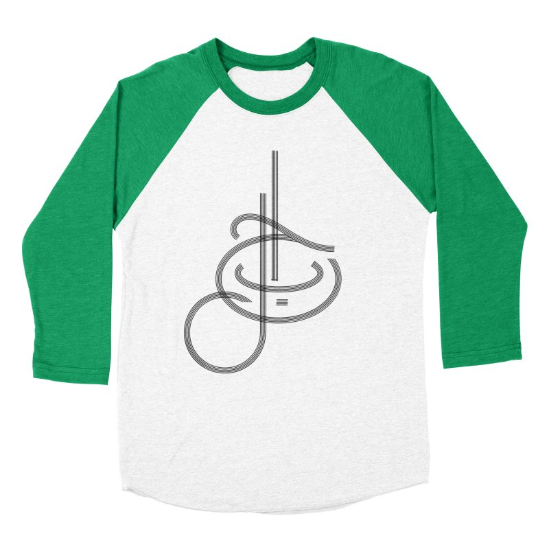 Love Arabic Calligraphy - 1 Men's Baseball Triblend Longsleeve T-Shirt by Rocain's Artist Shop