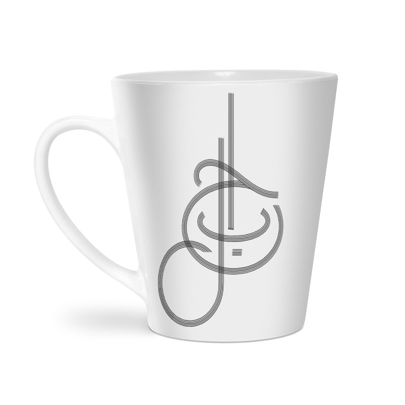 Love Arabic Calligraphy - 1 Accessories Latte Mug by Rocain's Artist Shop