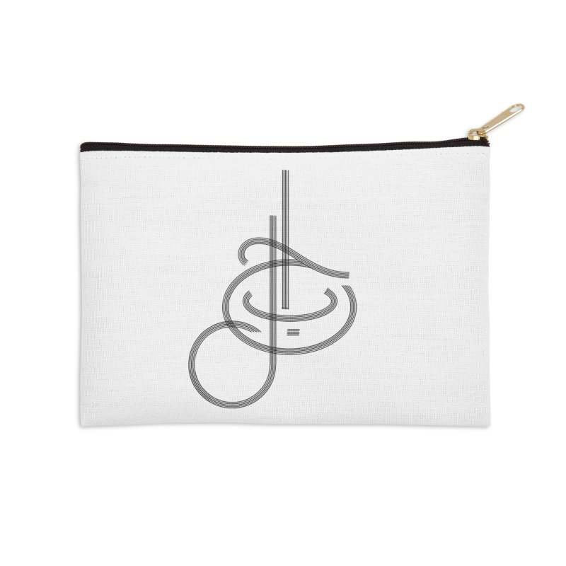 Love Arabic Calligraphy - 1 Accessories Zip Pouch by Rocain's Artist Shop