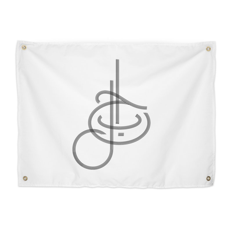 Love Arabic Calligraphy - 1 Home Tapestry by Rocain's Artist Shop
