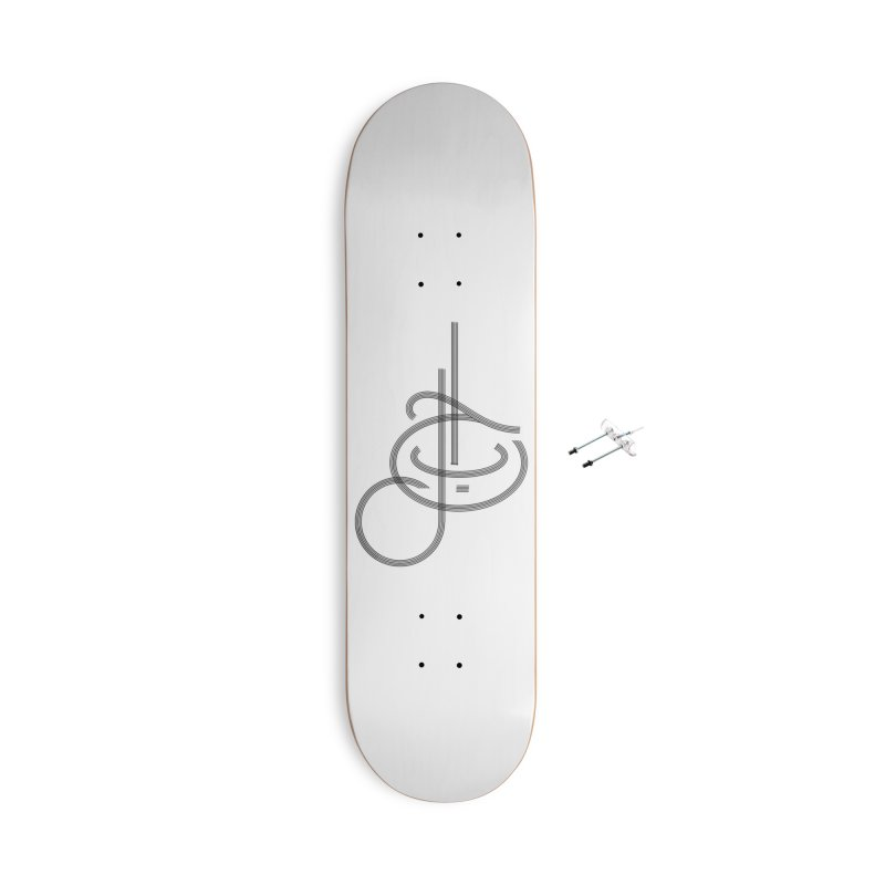 Love Arabic Calligraphy - 1 Accessories Skateboard by Rocain's Artist Shop