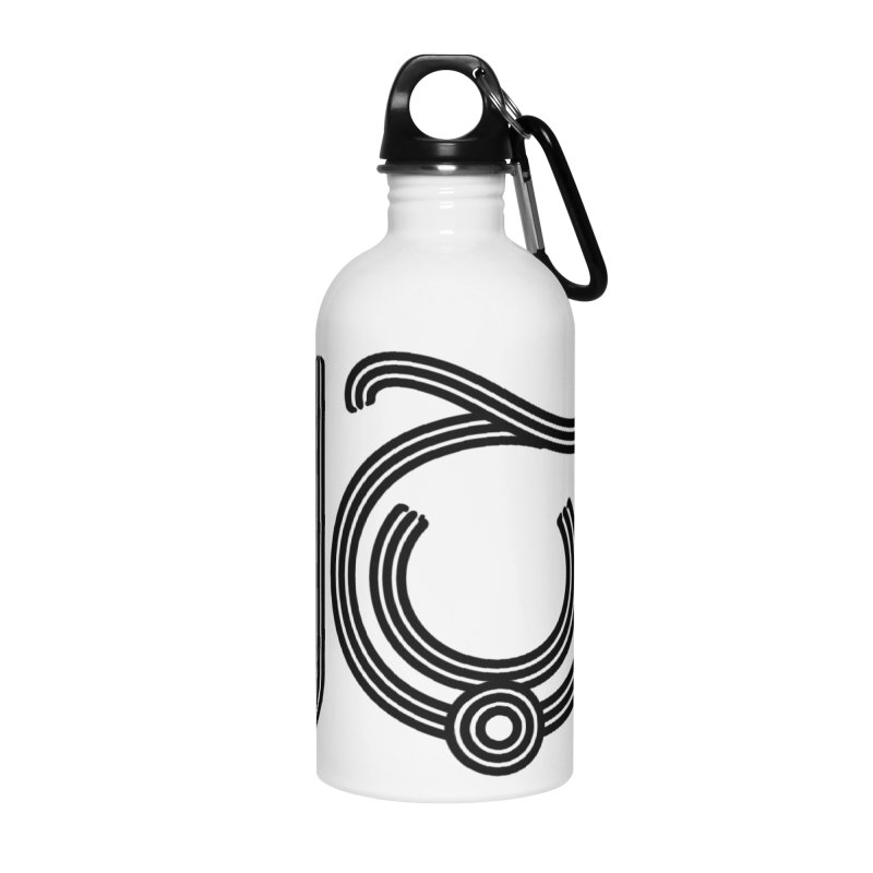 Love Arabic Calligraphy - 2 Accessories Water Bottle by Rocain's Artist Shop