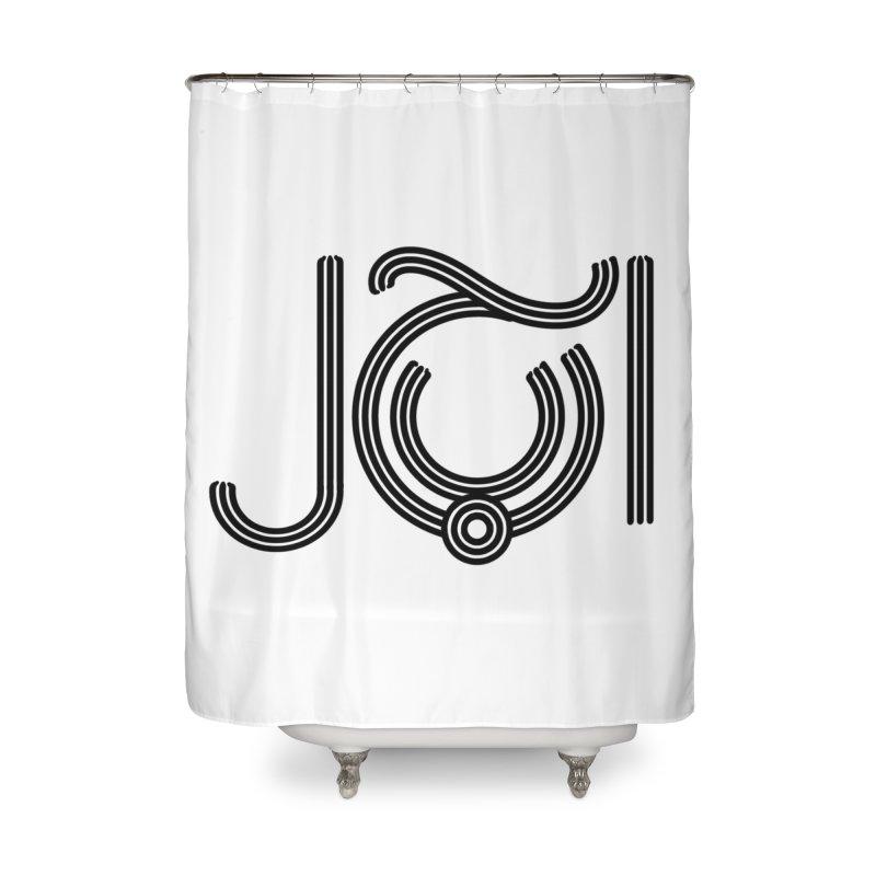 Love Arabic Calligraphy - 2 Home Shower Curtain by Rocain's Artist Shop