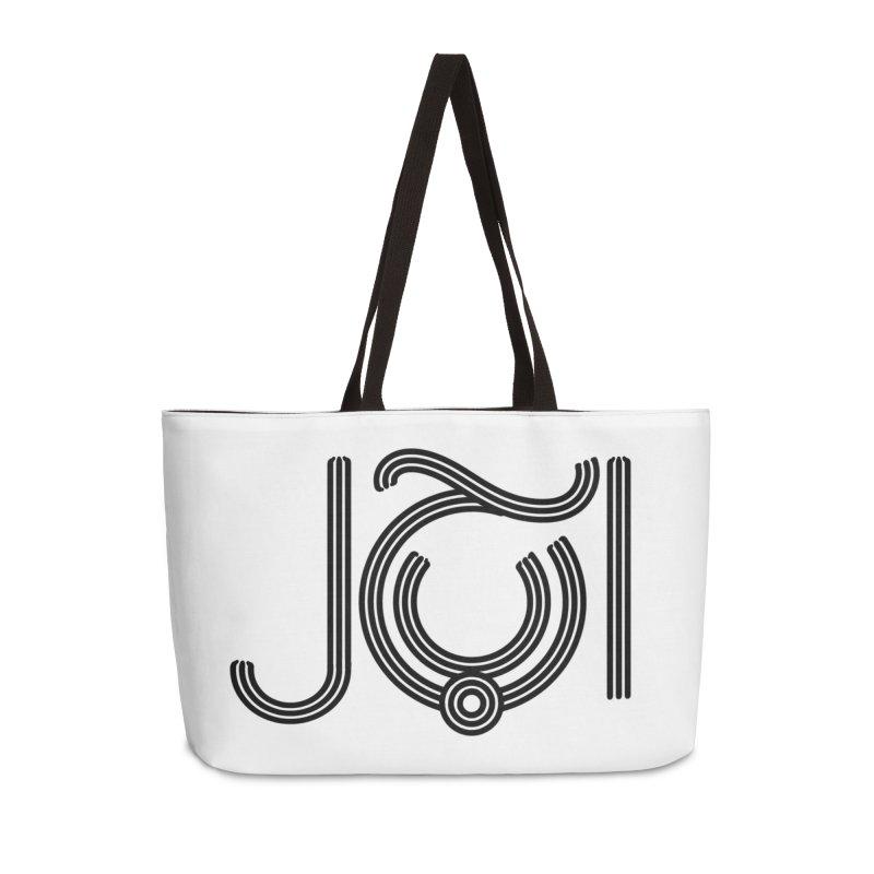 Love Arabic Calligraphy - 2 Accessories Weekender Bag Bag by Rocain's Artist Shop