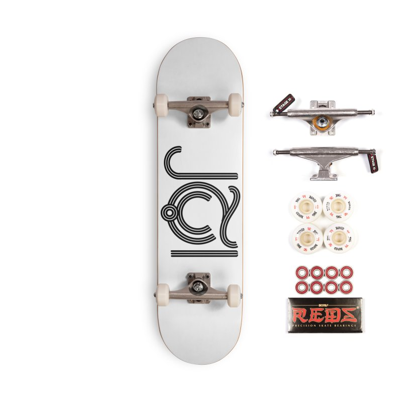 Love Arabic Calligraphy - 2 Accessories Complete - Pro Skateboard by Rocain's Artist Shop