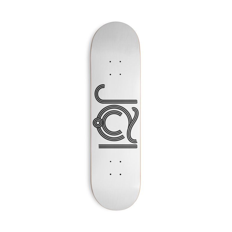 Love Arabic Calligraphy - 2 Accessories Deck Only Skateboard by Rocain's Artist Shop