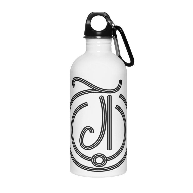 Love Arabic Calligraphy - 3 Accessories Water Bottle by Rocain's Artist Shop