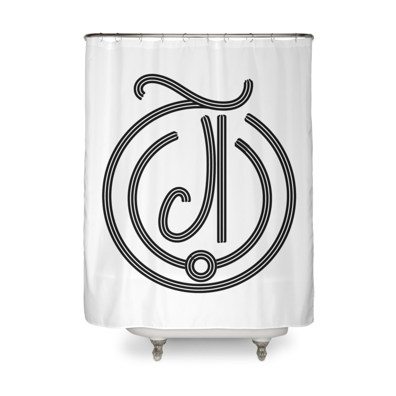 Love Arabic Calligraphy - 3 Home Shower Curtain by Rocain's Artist Shop