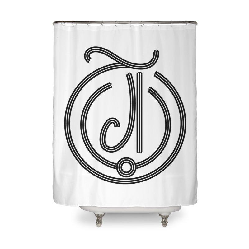 Love Arabic Calligraphy - 3 Home Shower Curtain by Rocain's Artist Shop