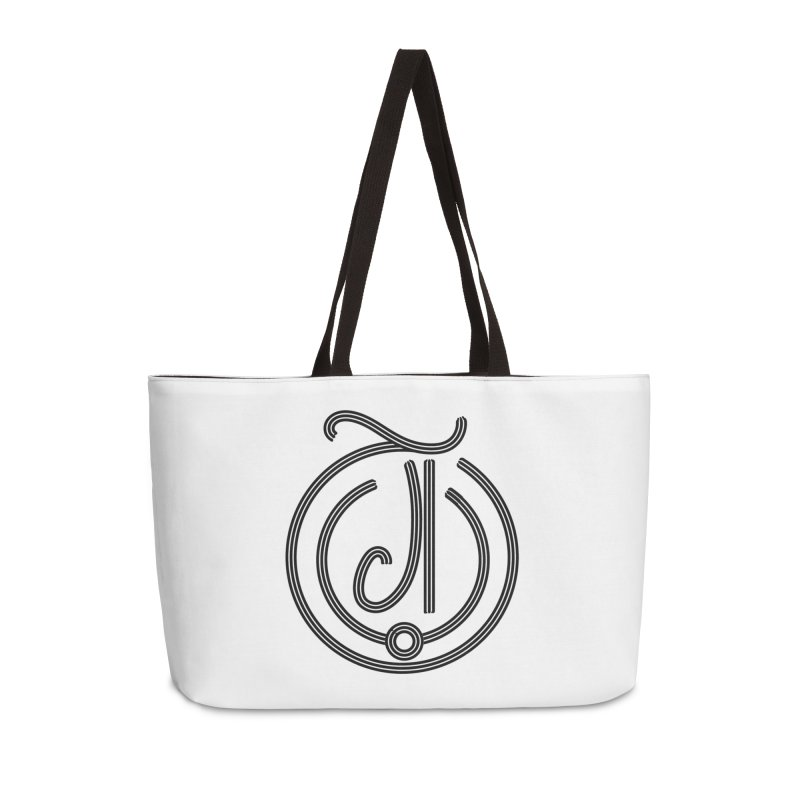 Love Arabic Calligraphy - 3 Accessories Weekender Bag Bag by Rocain's Artist Shop
