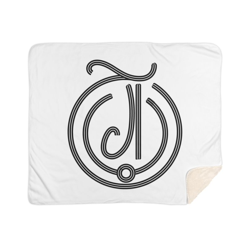 Love Arabic Calligraphy - 3 Home Sherpa Blanket Blanket by Rocain's Artist Shop