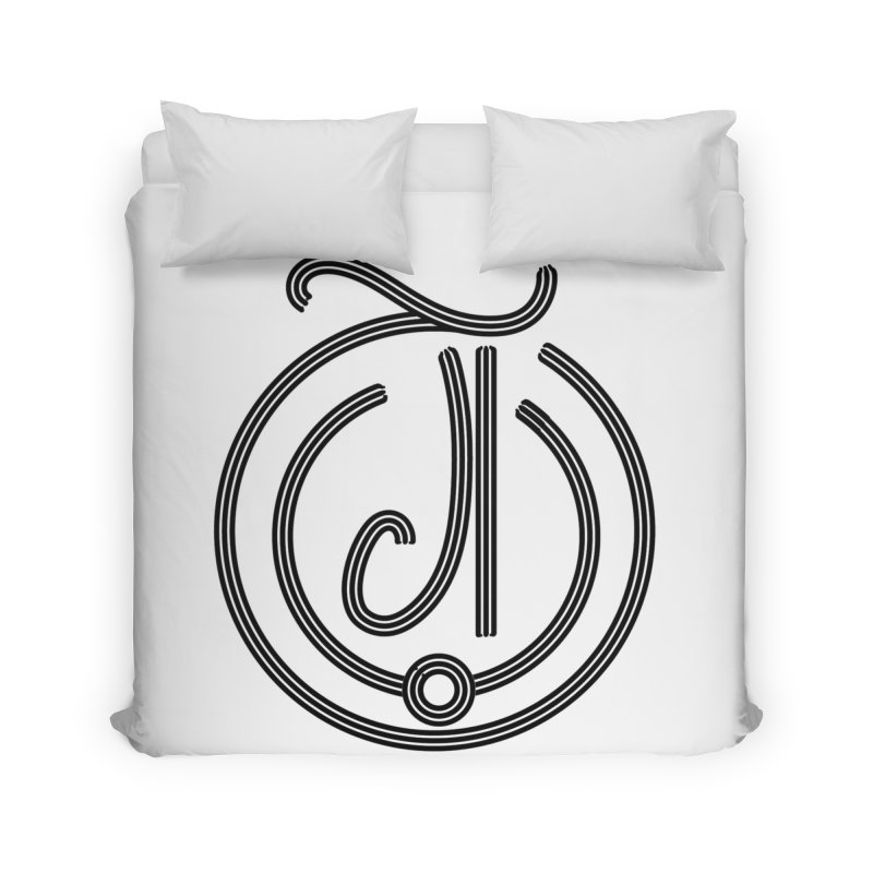 Love Arabic Calligraphy - 3 Home Duvet by Rocain's Artist Shop