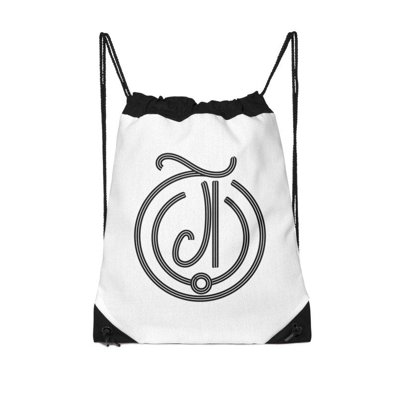 Love Arabic Calligraphy - 3 Accessories Drawstring Bag Bag by Rocain's Artist Shop