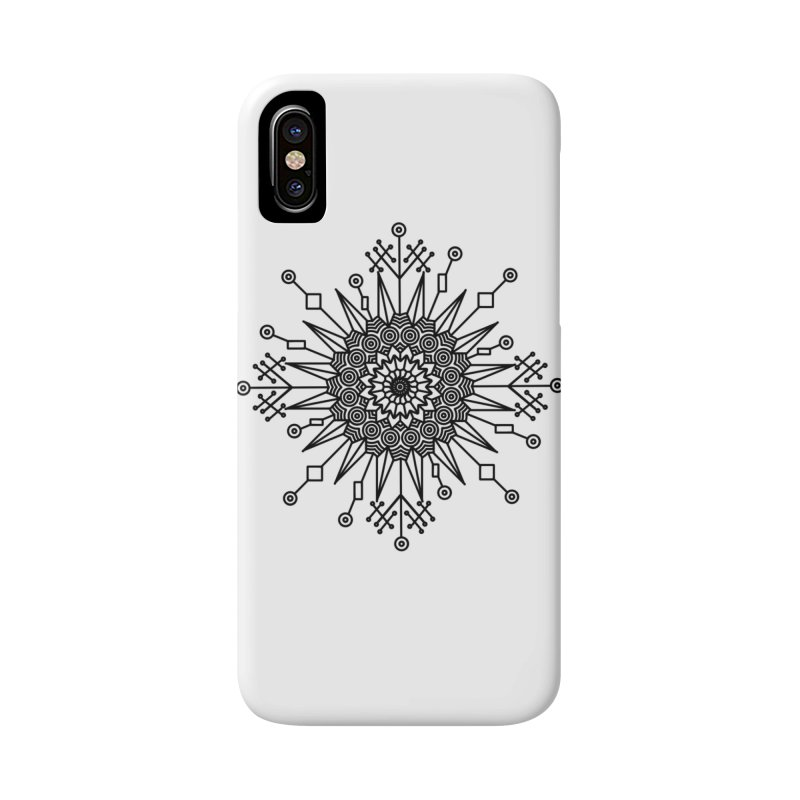 Mandala 111 Accessories Phone Case by Rocain's Artist Shop