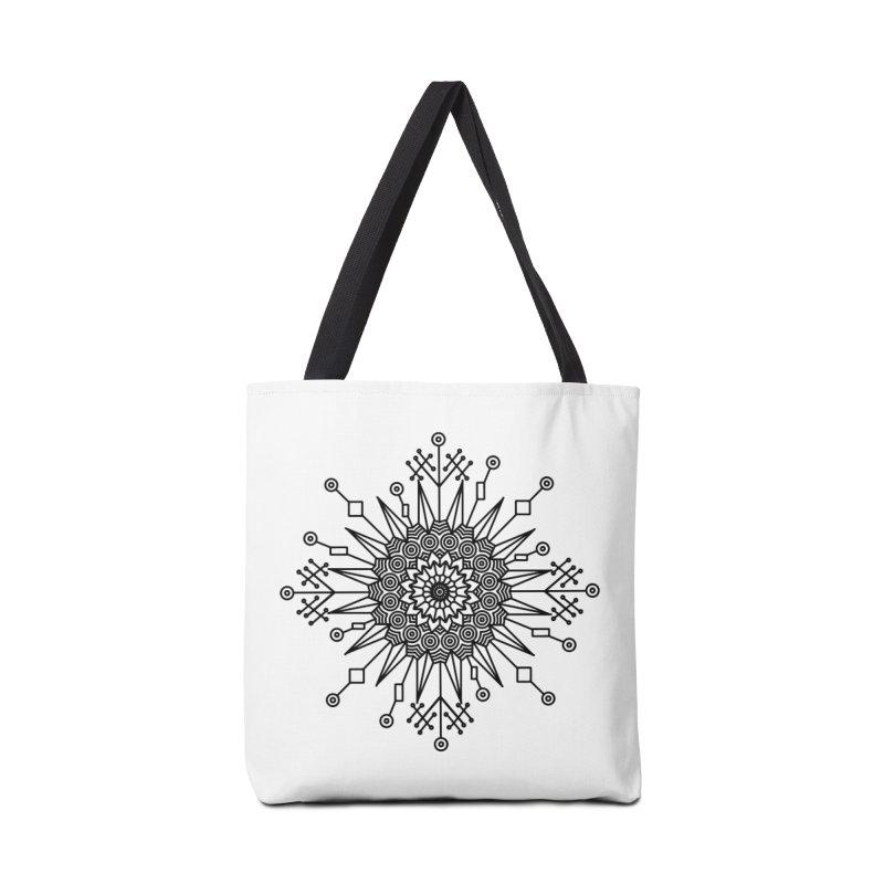 Mandala 111 Accessories Tote Bag Bag by Rocain's Artist Shop