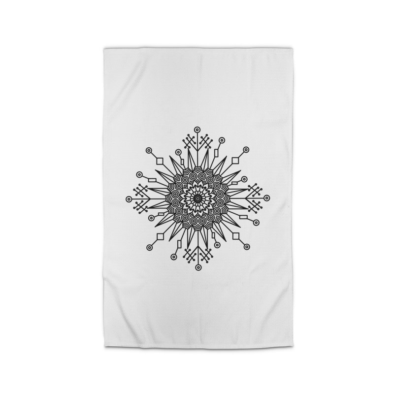 Mandala 111 Home Rug by Rocain's Artist Shop