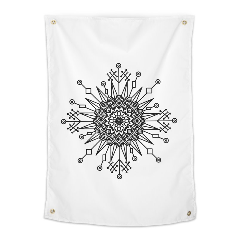 Mandala 111 Home Tapestry by Rocain's Artist Shop