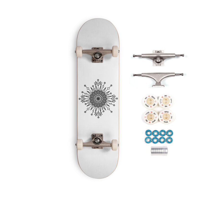 Mandala 111 Accessories Complete - Premium Skateboard by Rocain's Artist Shop